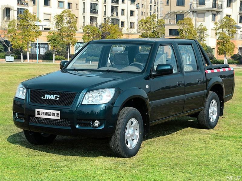 2015款宝典新超值版长货厢 JX1030TSGA 柴油 两驱
