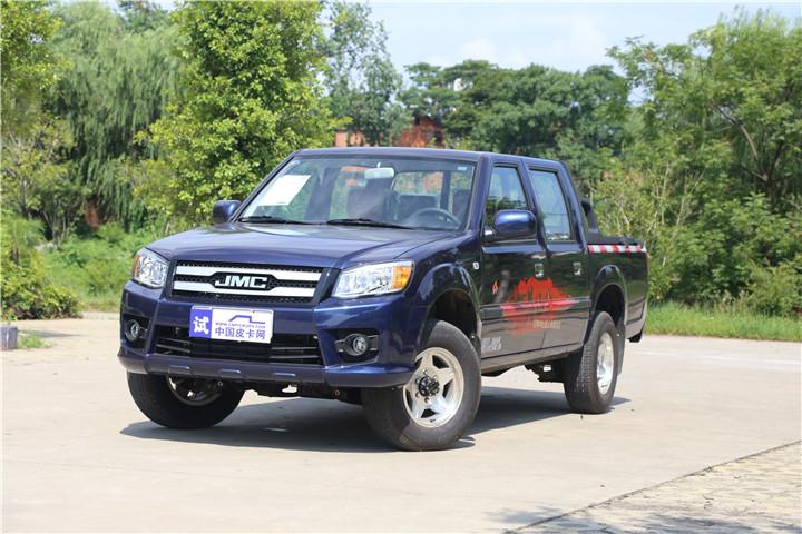 2018款3.0T JX4D30 柴油 四驱 5MT 长箱 标准型