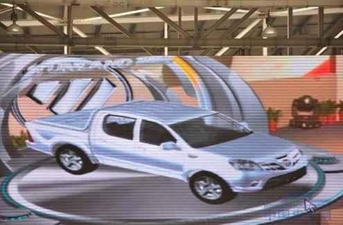 汽车内部结构概念图