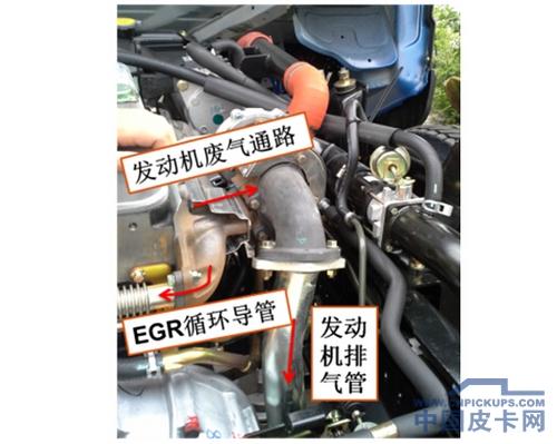 中国皮卡网 车讯 > 教你4招 辨别真假国iv  图12,egr控制阀效果图图片