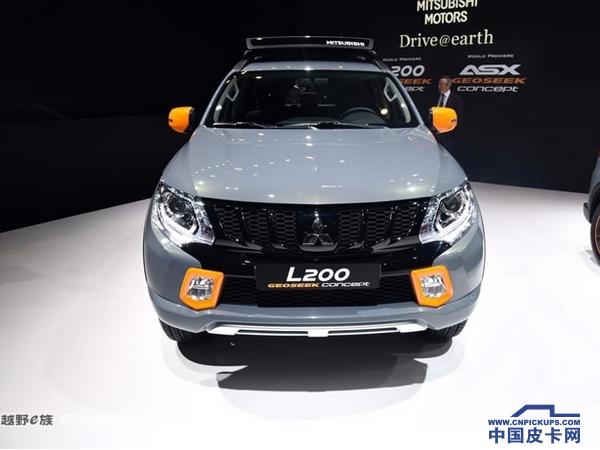 2016日内瓦车展:三菱L200概念车亮相