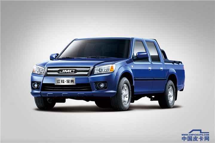 2016款宝典新超值版柴油JX493 标准货箱 4×4MT基本型 (GL)