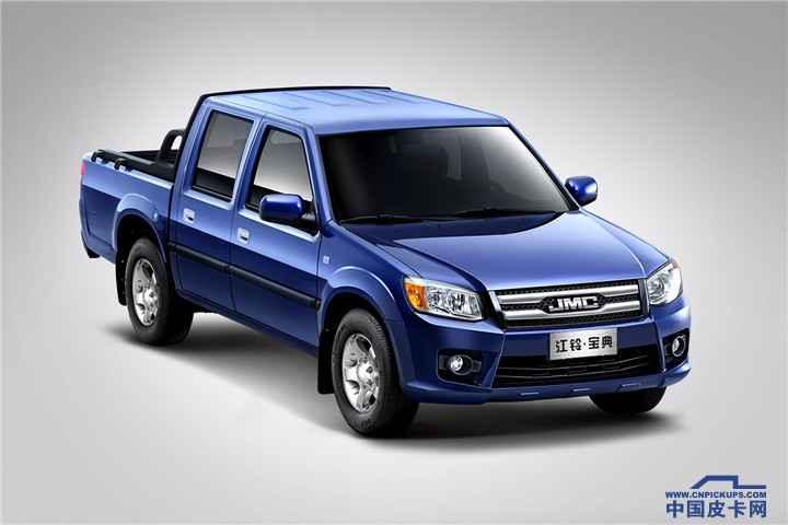 2016款宝典PLUS版柴油JX4D30 4×2MT豪华型(LX)