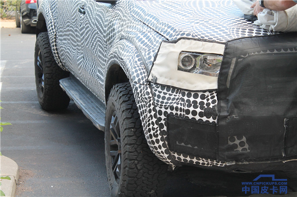 性能时代 福特Ranger美规版猛禽谍照