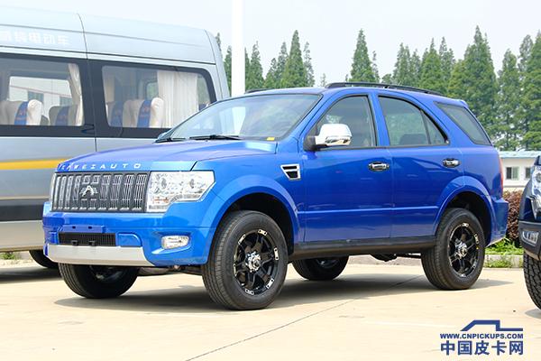 跨界硬派SUV来袭  卡威W150即将正式上市