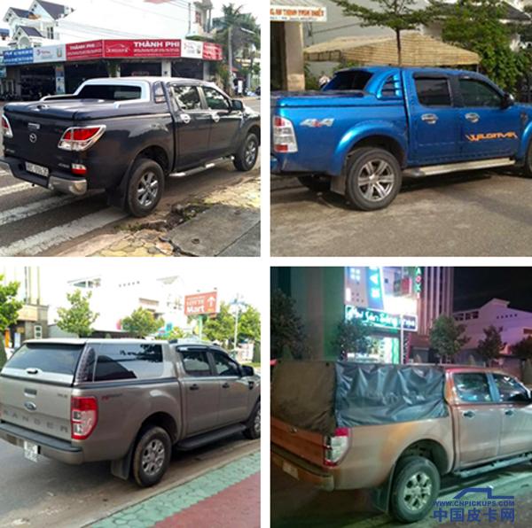 越南街头皮卡随拍 到底与国内有何差别?