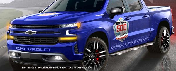 Daytona 500迎来强敌 雪佛兰索罗德皮卡将出赛