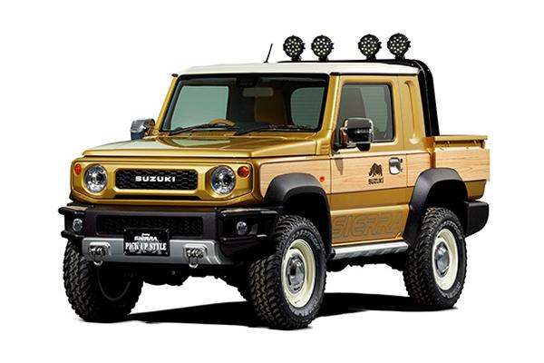 超小型皮卡 吉姆尼Sierra概念皮卡将亮相东京改装沙龙