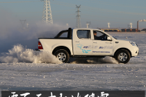 零下三十驭雪破冰 海拉尔冰雪试驾福田拓陆者