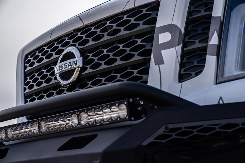 日产Titan Ultimate Work版预告图发布 将于日内瓦车展亮相