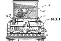 能K歌!能看美剧!福特皮卡最新专利图曝光