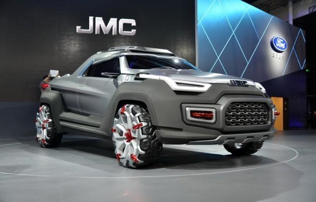 概念车进入生产线 新款域虎皮卡焕然一新!