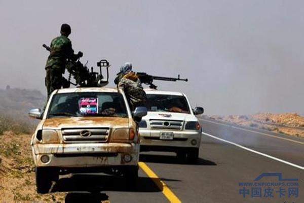 中兴皮卡挺进利比亚