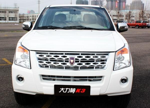 售6.78-6.98万 大力神K3两款车型上市