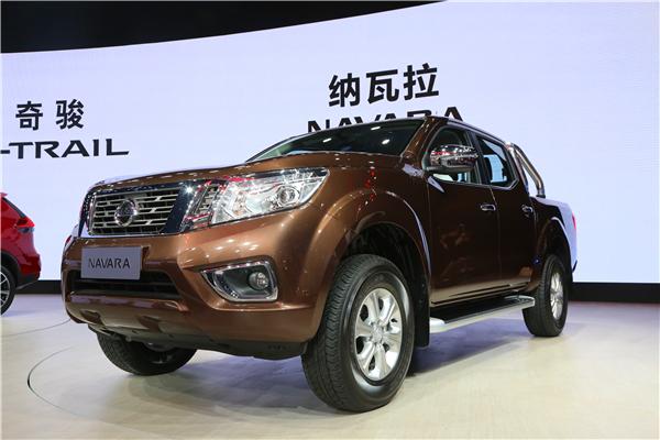 郑州日产全新高端SUV级皮卡纳瓦拉登陆上海车展