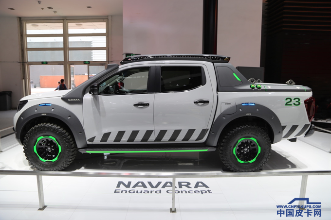 双涡轮柴油机   日产纳瓦拉概念车惊艳亮相