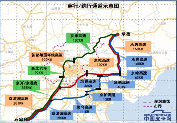 国三柴油皮卡12月1日起 全天禁行北京行政区域