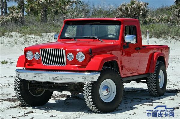 硬派越野鼻祖回归市场 Jeep皮卡历史回顾