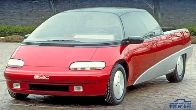 3.0后置發動機 1988年GMC Centaur異形概念皮卡