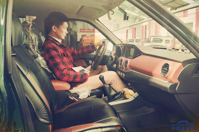值得一看!卡友阿豪與他的墨綠色銳騏2018款皮卡