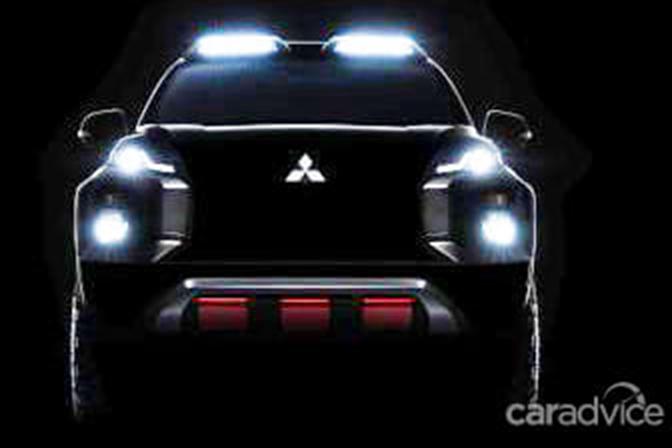 将于曼谷车展亮相 三菱Triton越野版预告图曝光