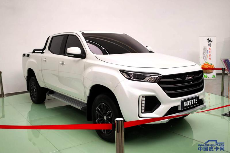 騏鈴T15將亮相上海車展 搭載2.5T柴油發動機