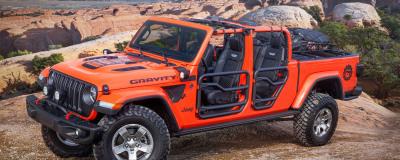 Jeep角斗士6款概念車將亮相