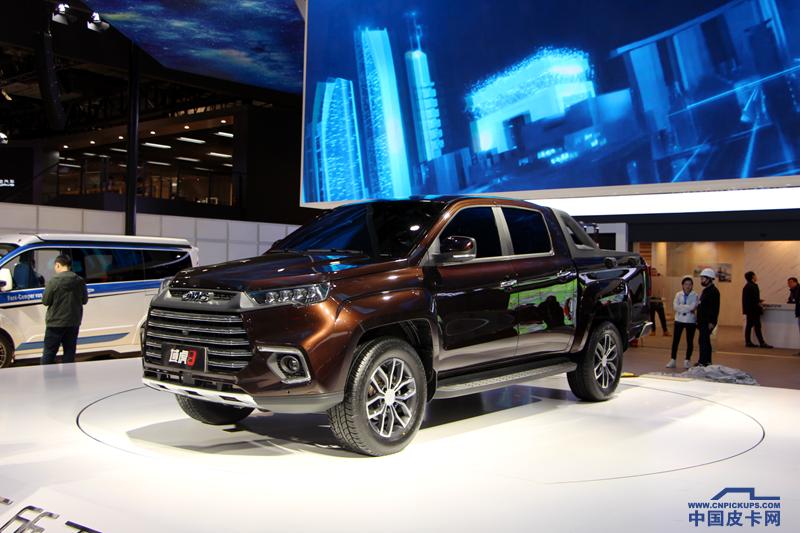 域虎9領銜 江鈴新技術和新產品亮相上海車展