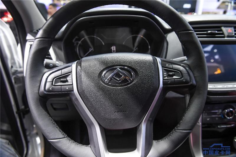 上汽大通MAXUS T70上海車展首次亮相  搭國六發動機6月上市