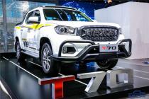 上汽大通MAXUS T70上海车展首次亮相  搭国六发动机6月上市