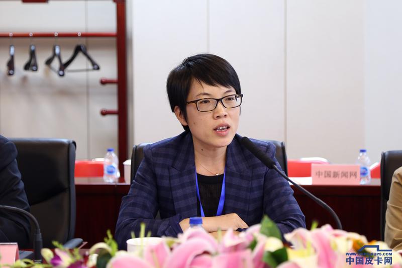 江西五十铃市场总监张微微:皮卡是高端生活方式的引领者
