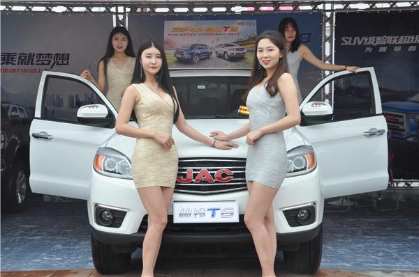 皮卡中國行瀘州站的銷量王者——江淮皮卡