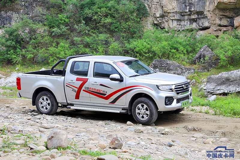 风骏7柴油国六越野试驾体验 喜迎首位柴油国六皮卡车主