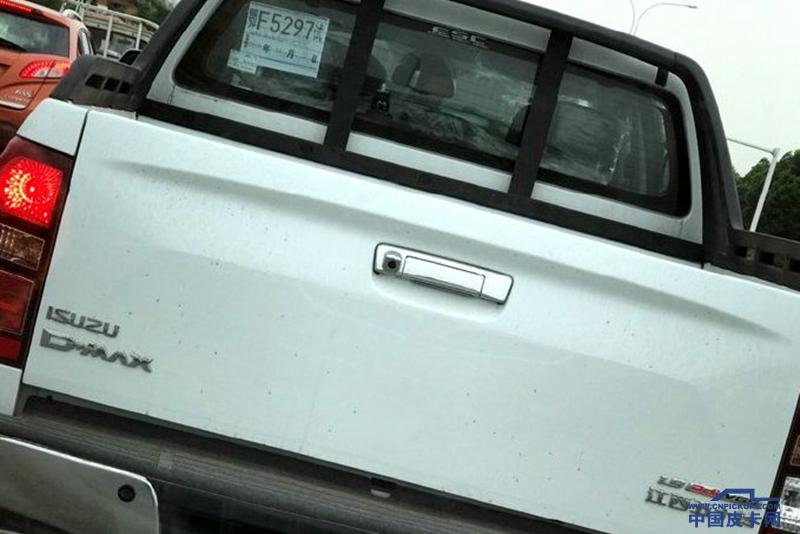 1.9T国六D-MAX曝光 4JJ1 3.0T国六推迟