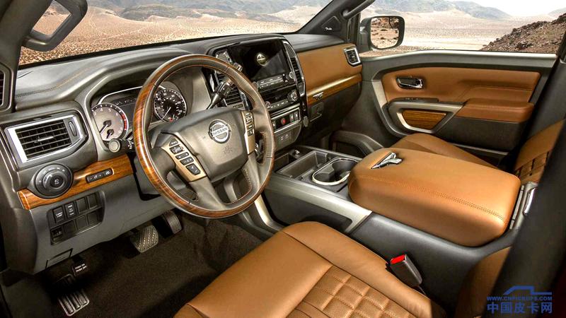 2020款日产泰坦实车曝光 向福特、雪佛兰、RAM发起挑战