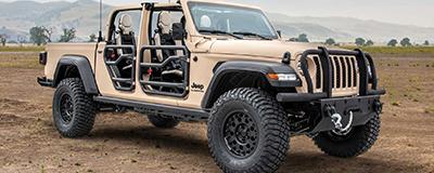 Jeep將推高性能版角斗士皮卡 動力超500匹