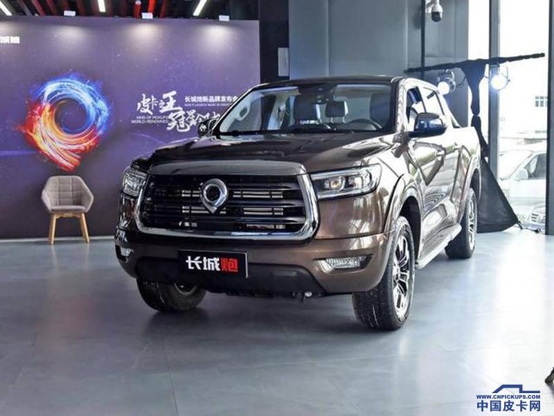 汽油8AT車型僅為11.18萬元 長城炮商用皮卡將10月24日上市