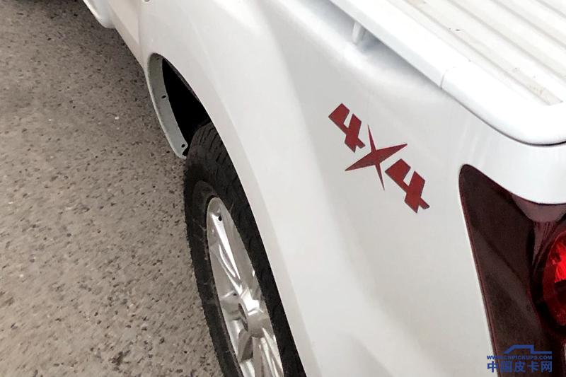 1.9T柴油机+单排 江西五十铃D-MAX无伪谍照曝光