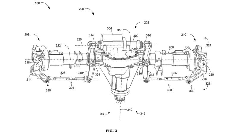 福特申请全轮转向专利 或应用于F系列皮卡