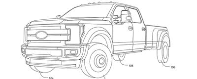 福特汽車申請全輪轉向專利