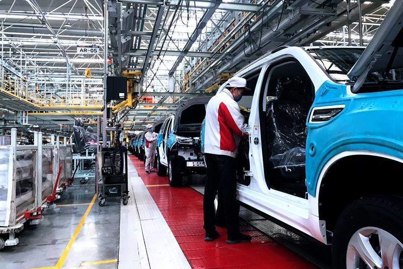 全力防疫 打造安全工廠 長城汽車全國生產基地復產復工