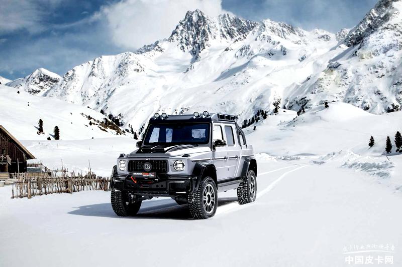 巴博斯800 Adventure XLP皮卡 日內瓦車展亮相
