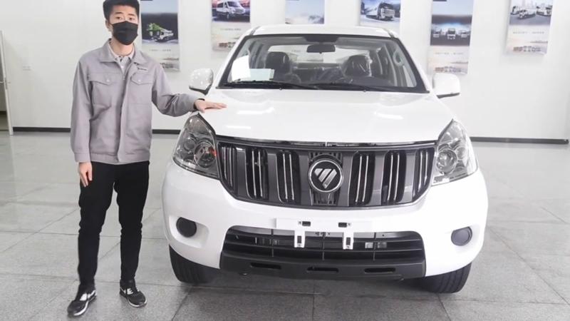 福田新征服者3柴油國六正式上市,售價9.18萬元