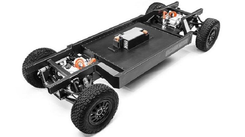 全球首個電動3級商用卡車平臺 Bollinger申請E-Chassis電動平臺專利
