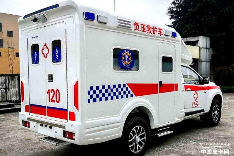 """病患""""方舟""""  慶鈴達咖負壓救護車即將交付"""