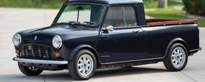 经典收藏车 60岁高龄MINI 95皮卡将被拍卖