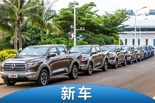 长城炮商用版/乘用版柴油8AT上市 售价11.78-16.68万