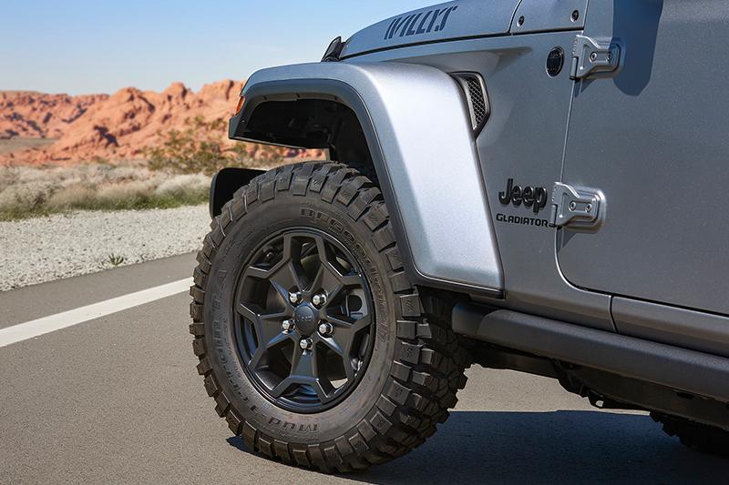 售价24.3万元起 Jeep角斗士Willys特别版上市