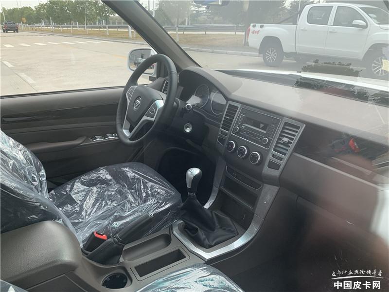 配2米长平底货箱 萨普Z实车曝光 售价6万