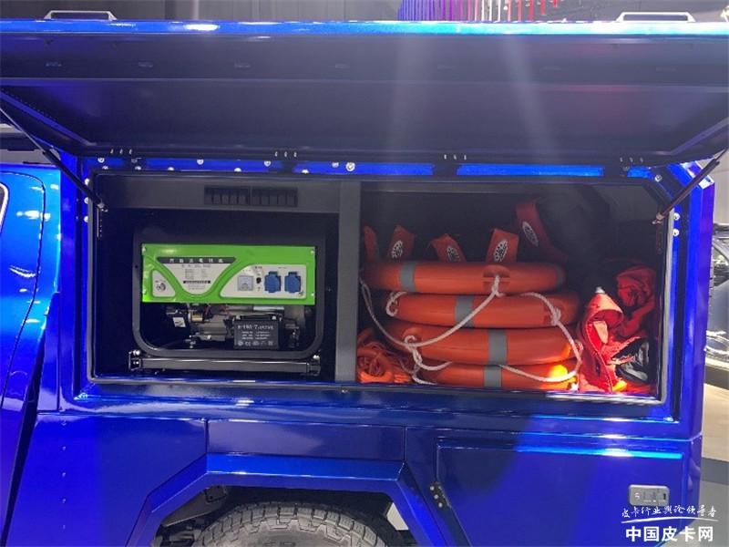 長城救援炮、上汽NEW EV版吸睛 2020廣州車展皮卡探館